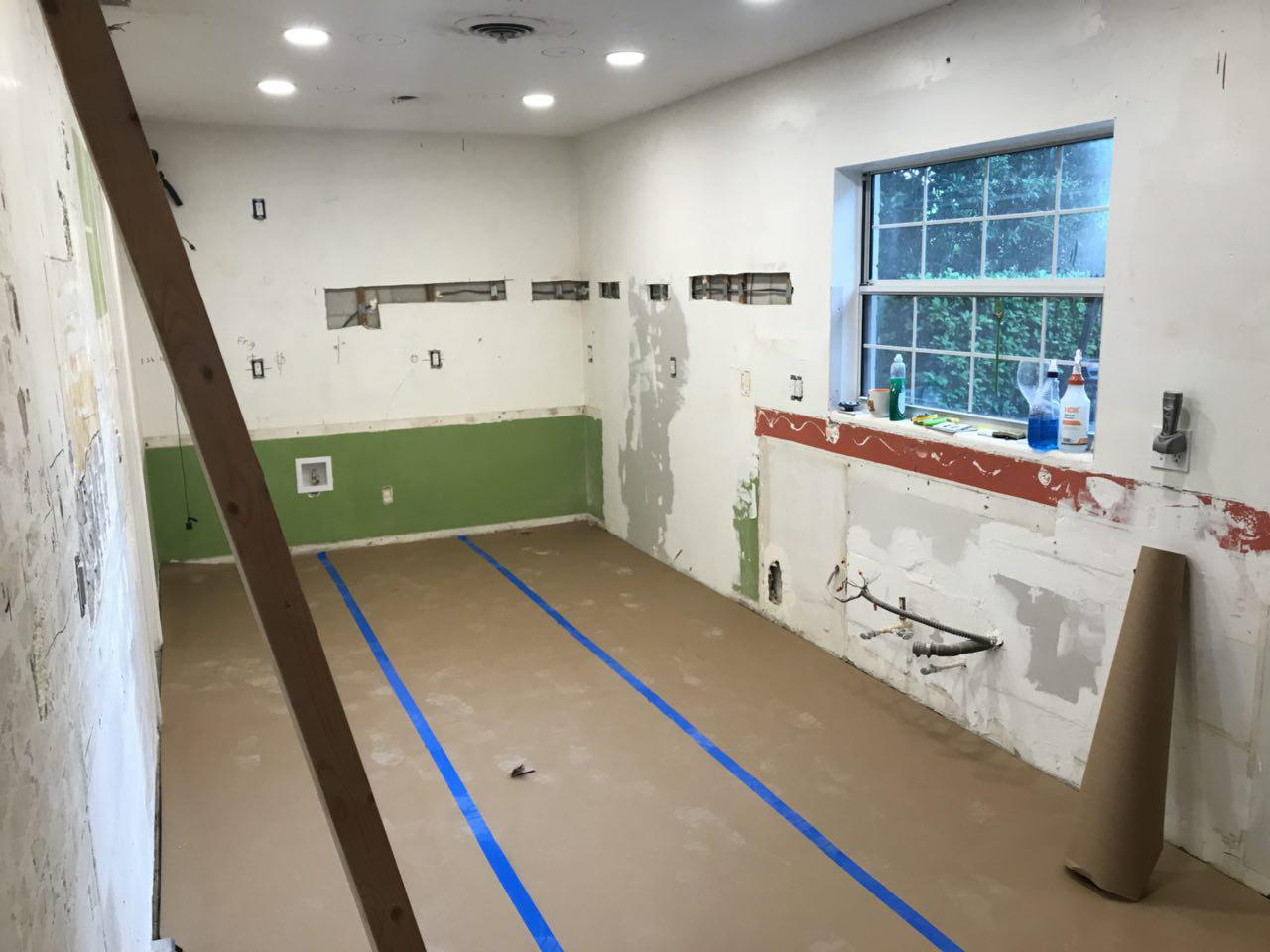 Before Winter Park Florida Drywall 3